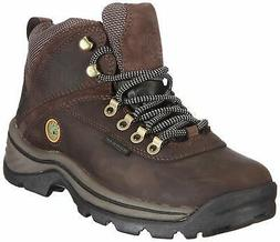TimberlanD Women's White LeDge MiD Ankle Boot,Dark Brown,7.5
