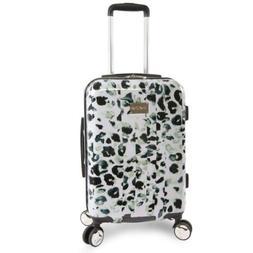 "BEBE Women's Abigail 21"" Hardside Carry-on Spinner Luggage,"