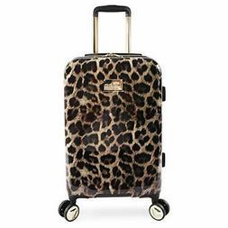 "BEBE Women's Adriana 21"" Hardside Carry-on Spinner Luggage,"
