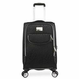 """BEBE Women's Carissa 21"""" Expandable Spinner Carry Tossed Bla"""