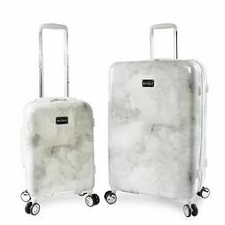 BEBE Women's Lilah 2 Piece Set Suitcase with Spinner Wheels,
