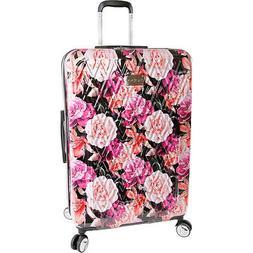 "BEBE Women's Luggage Marie 29"" Hardside Check in Spinner, Bl"