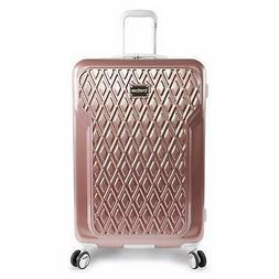"BEBE Women's Luggage Stella 29"" Hardside Check in Spinner, R"