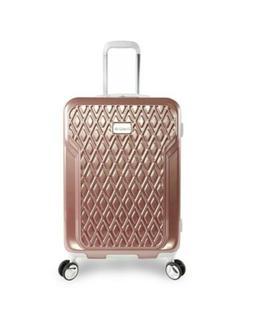 "BEBE Women's Stella 21"" Hardside Carry-on Spinner Luggage, R"