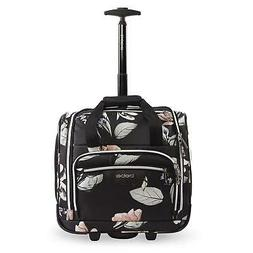 BEBE Women's Valentina-Wheeled Under The Seat Carry-on Bag,