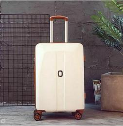 Women Travel Luggage Cabin 20 Inch 24 Inch Rolling Spinner T