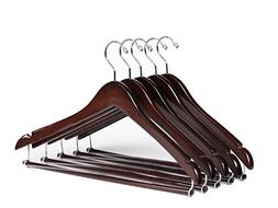 Quality Hangers Wooden Hangers Beautiful Sturdy Suit Coat Ha