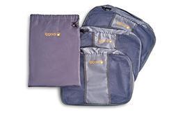 ZipCubes Packing Cubes Plus Shoe Bag/Laundry Bag, Small
