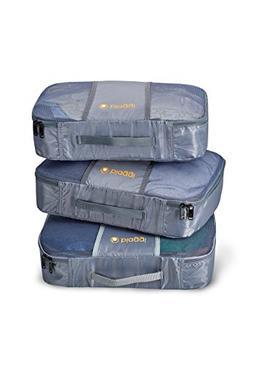 ZipCubes Packing Cubes Plus Shoe Bag/Laundry Bag, Large