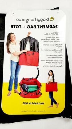Biaggi Hangeroo ZipSak 2-in-1 Gray Garment Bag Tote By Lorie