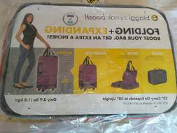 "Biaggi Zipsak 22"" Folding Expanding Carry-On expands to 28"""