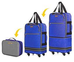 "Biaggi Luggage Zipsak Boost! Expandable Carry On - 22"" Expan"
