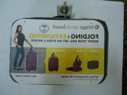 Biaggi Zipsak Boost Folding Expanding Luggage Bag Suitcase I