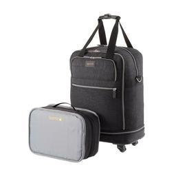 "Biaggi Zipsak Carry-On Spinner 22"" Micro-Fold Carry On Grey"