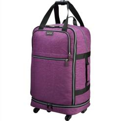 Biaggi Zipsak Folding luggage 31 inches light weight purple