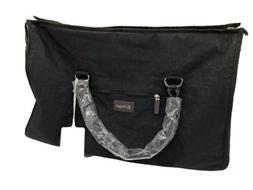 Biaggi Zipsak Hangeroo  2 In 1 Overnight Carryon Bag Black