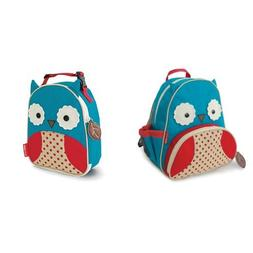 Skip Hop Zoo Backpack and Lunchie Set, Owl