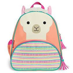 """Skip Hop Toddler Backpack, 12"""" Llama School Bag, Multi"""