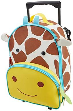 Skip Hop Kids Luggage With Wheels, Giraffe