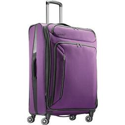 """American Tourister Zoom 28"""" Expandable Checked Spinner Softs"""