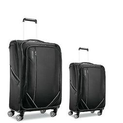 "American Tourister Luggage Zoom Turbo 24"" + 28"" Spinner Suit"