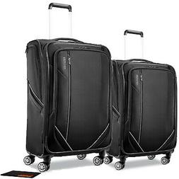 "American Tourister Zoom Turbo 28"" and 24"" Luggage 2Pc Set  w"